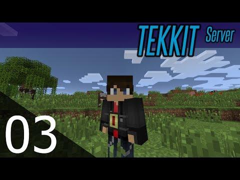 Minecraft Tekkit Server - ep. 03 - Simply Jetpacks!