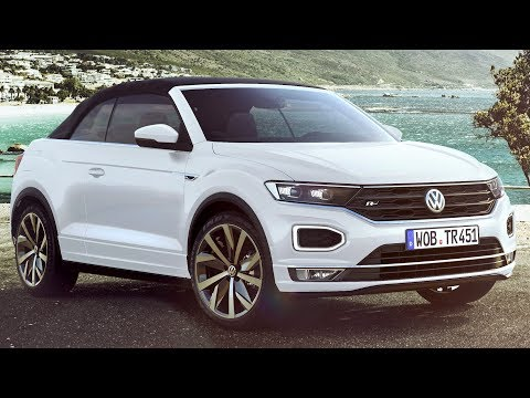 2020 VW T-Roc Cabriolet R-Line - Convertible With SUV Genes