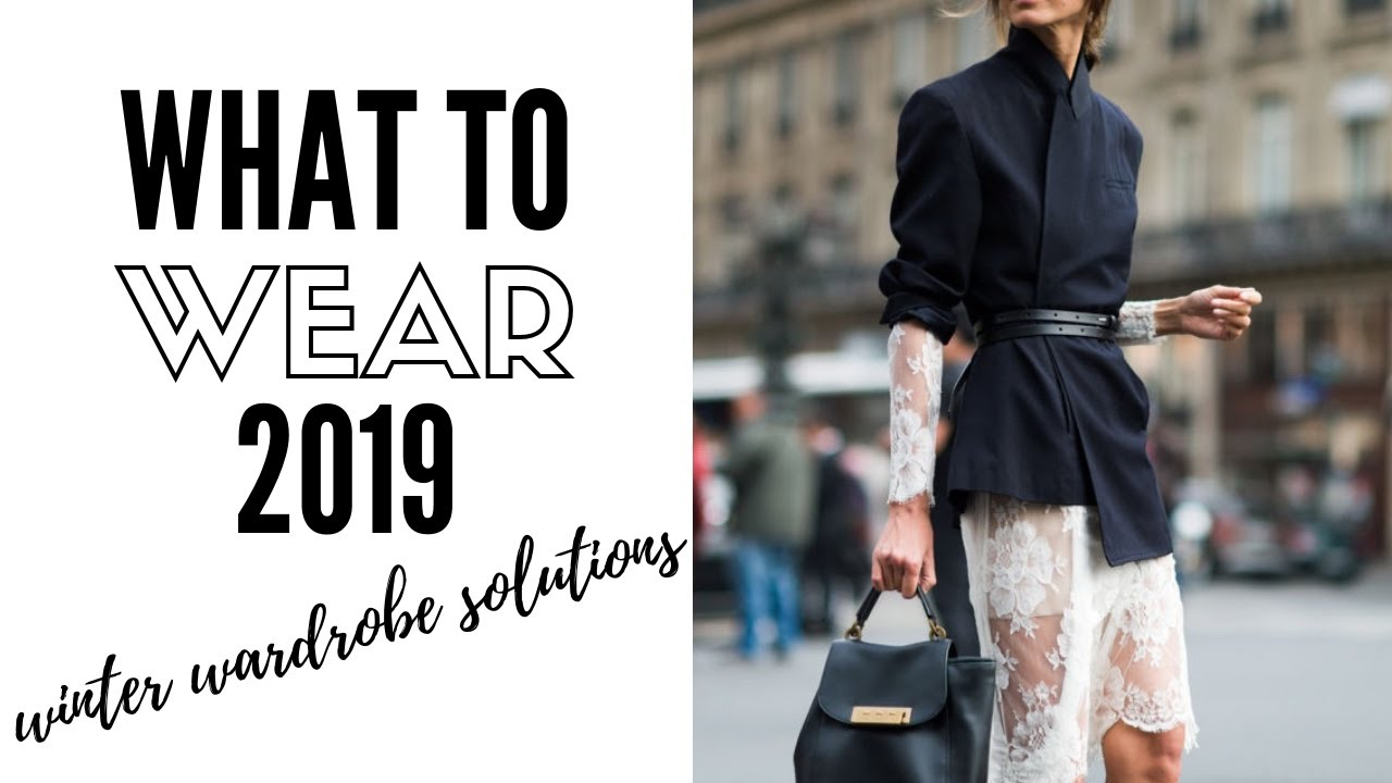 Top Wearable Winter Fashion Trends 2019 | How To Style