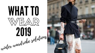 Top Wearable Winter Fashion Trends 2019 | How To Style Video