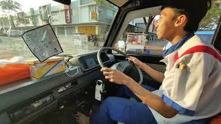 Mitsubishi L300 susah masuk gigi // test drive