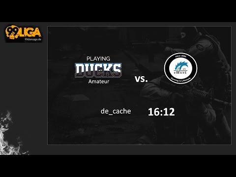 99 Liga - Div. 3.2 - energy-WAVE e.V. vs. Playing Ducks Amateur - de_cache