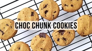 How to Make Chewy Choc Chip Cookies  VEGAN