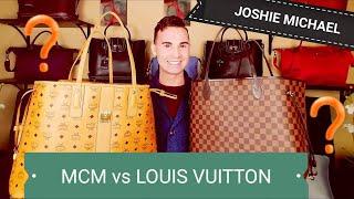 Louis Vuitton Neverfull GM vs MCM Large Liz Tote    JM