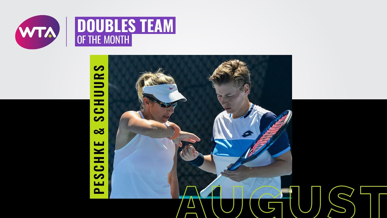 August Doubles Team of the Month: Demi Schuurs and Kveta Peschke