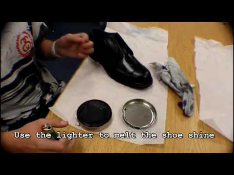 How to shine your shoes (2 Methods)