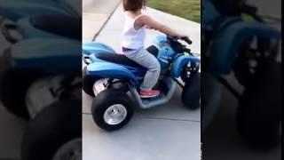 Avery Ride on Yamaha Raptor 4 Wheeler