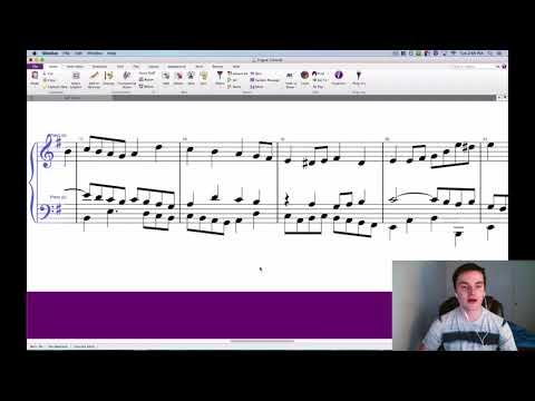 How to Write a Fugue - Part 3 (Stretto, Coda, Interval Analysis)