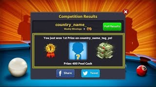 Country Trick-Low Winning-100% Working Method-8 ball pool