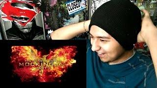 The Hunger Games: Mockingjay Part 2 Official Final Trailer REACTION!!!