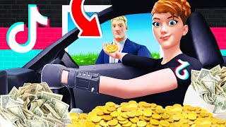 BECOMING a TIK TOK BILLIONAIRE (Fortnite Tycoon)