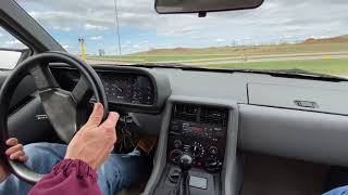 1981 DeLorean DMC-12 Driving - YouTube
