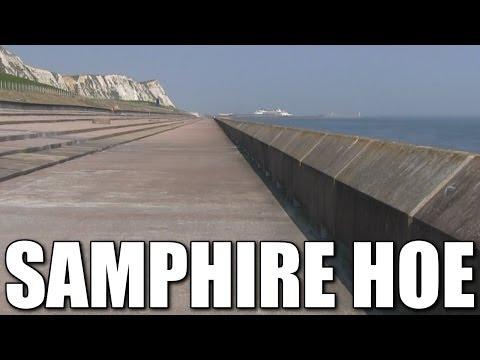 Samphire Hoe - South East Coast rock fishing venue, Kent, England, UK