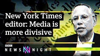 NYT editor Dean Baquet talks Trump, Weinstein and racism - BBC Newsnight / Видео