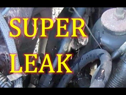 Ford 1500 Truck How To Find Power Steering Pressure Hose