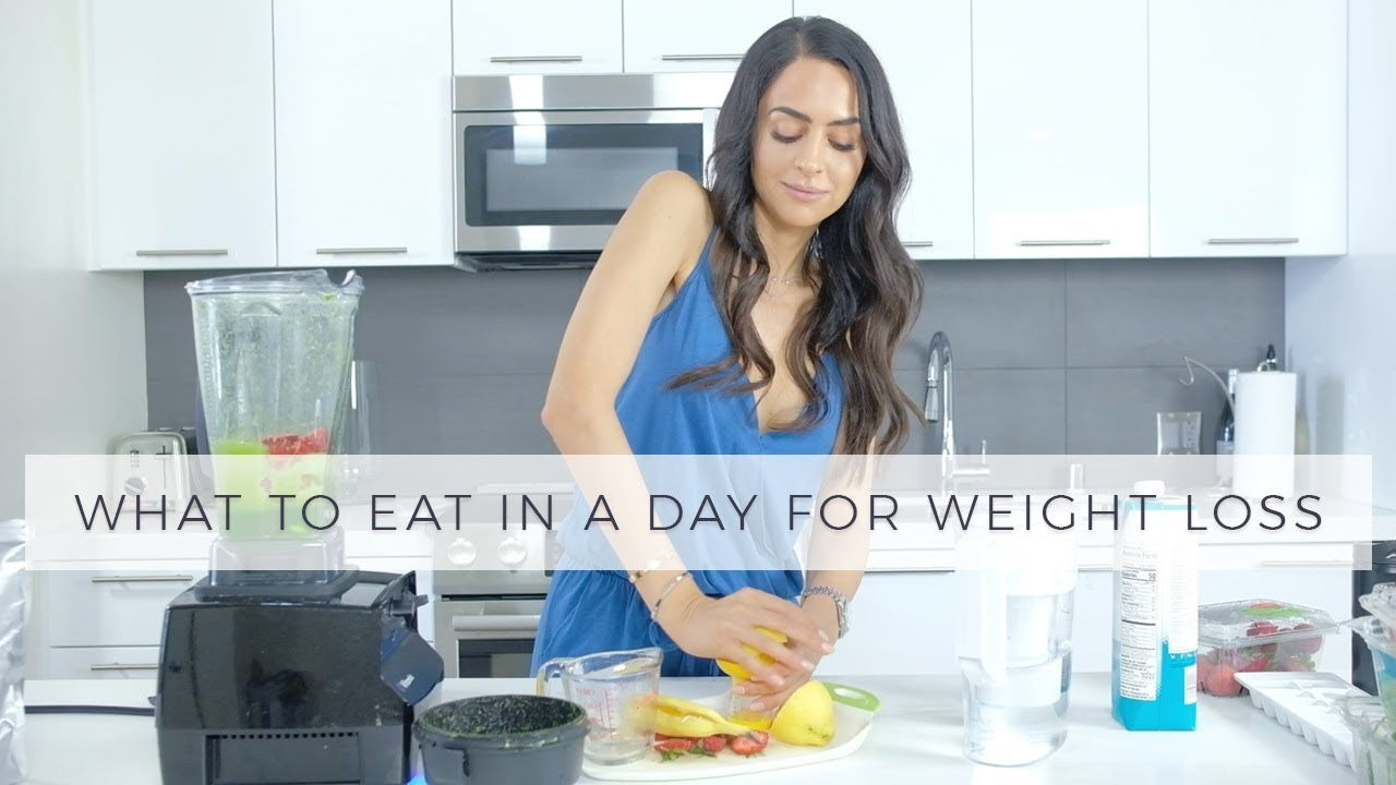 What To Eat In A Day For Weight Loss | Dr Mona Vand - YouTube