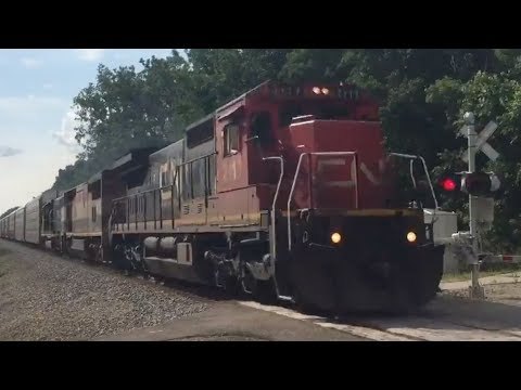 CN L502 (Guest starring BC Rail and IC!)