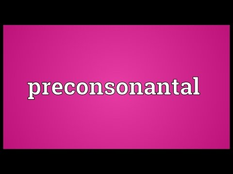 Header of preconsonantal