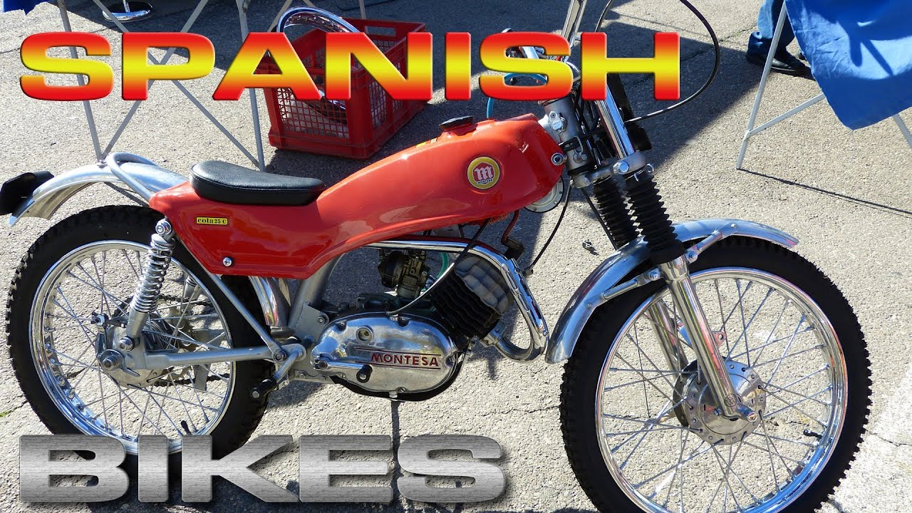 montesa bultaco ossa puch derbi spanish classics bikes