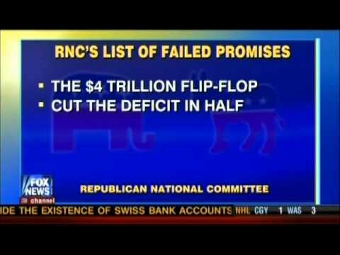 Obama failures highlighted using his own campaign promises