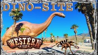 Spiders, Dinosaurs, & Western Movie Set Town
