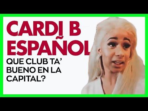 Cardi B - Que Club Ta' Bueno En La Capital