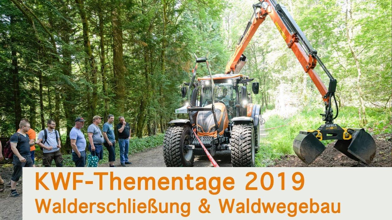 Download KWF Thementage 2019 // Walderschließung und Waldwegebau