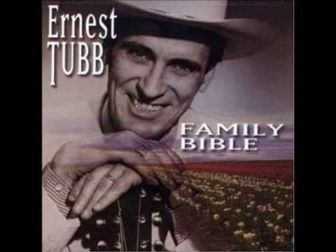 Ernest Tubb - Family Bible - May The Good Lord Bless And Keep You