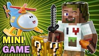 ч.09 Lucky Block Wars Minecraft - Самый настоящий ВЕРТОЛЁТ))!
