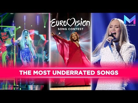 Eurovision 2010-2017   MY TOP 20 most underrated songs