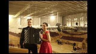 "Bashkim Shehu: ""Atma escape"" Charlene Farrugia (Piano) and Franko Bozac (Božac) (Accordion)"