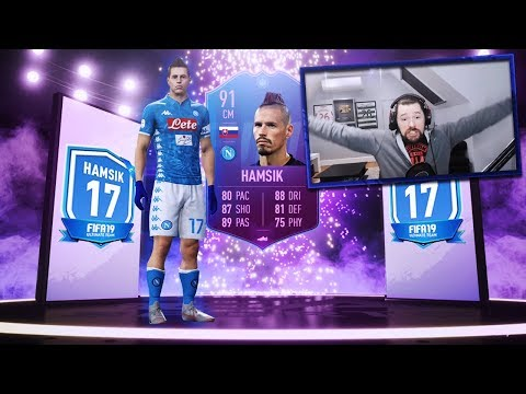 INSANE 91 RATED HAMSIK PREMIUM SBC! - FIFA 19 Ultimate Team