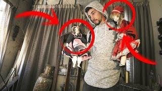 La CASA de las MUÑECAS ABANDONADAS!!! *The house of the dolls* thumbnail