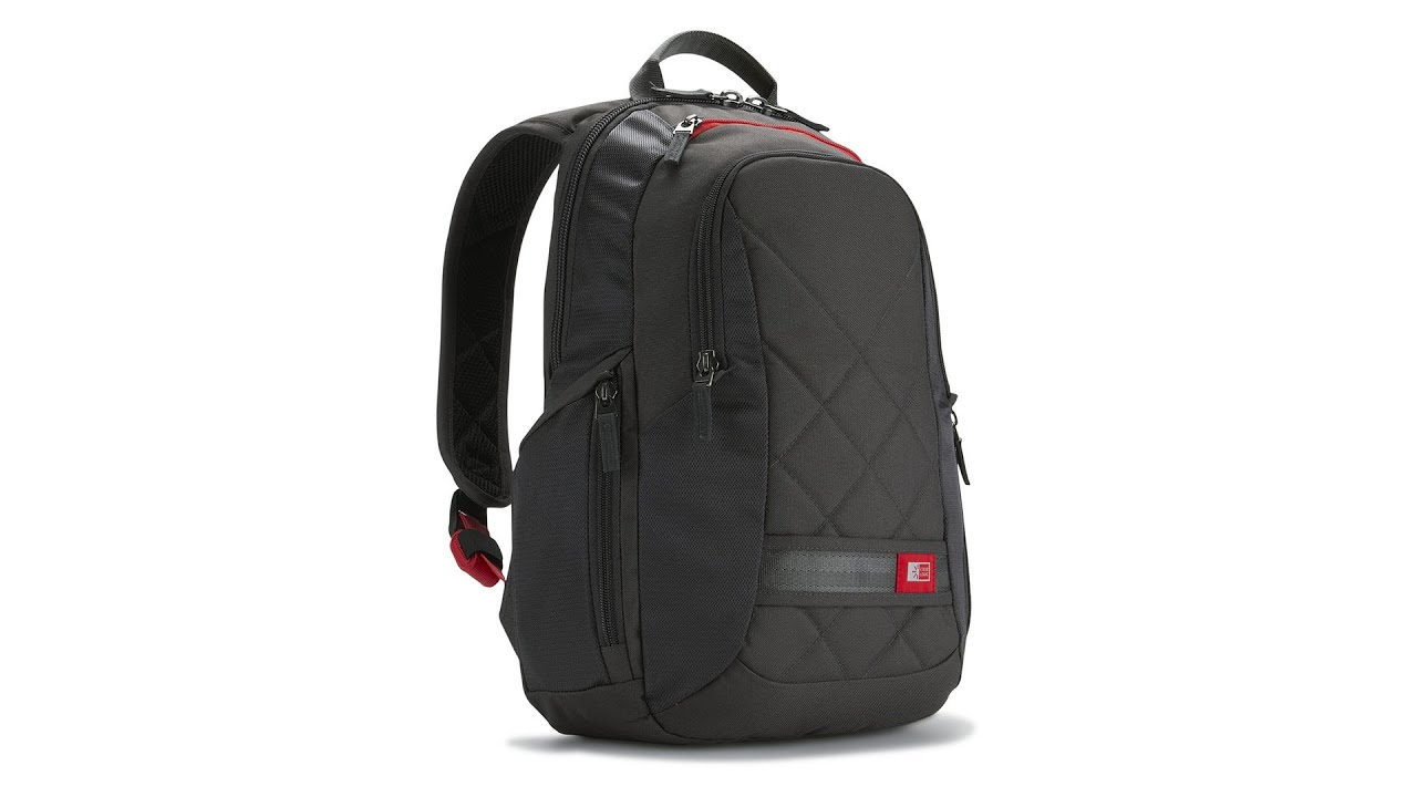"Case Logic 13""-14"" Laptop Backpack DLBP114 BLACK • Quick Look ..."