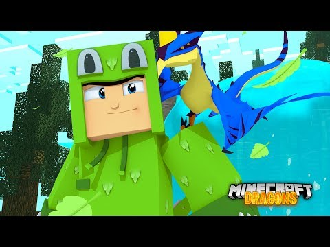 Our BABY DRAGON HATCHED! - Minecraft Dragons