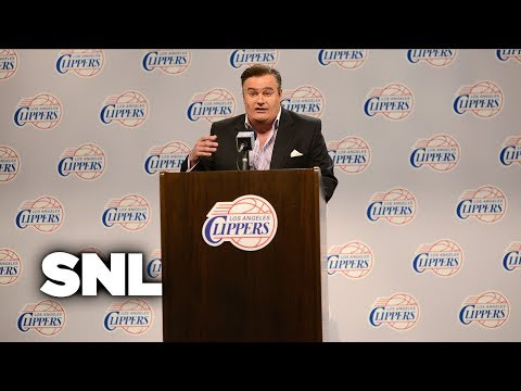 Donald Sterling Press Conference Cold Open - Saturday Night Live