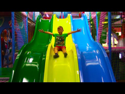Thumbnail: Indoor Playground Family Fun Play Area for kids Baby Nursery Rhymes Song!