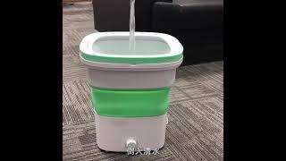 오존 살균 접이식 미니세탁기