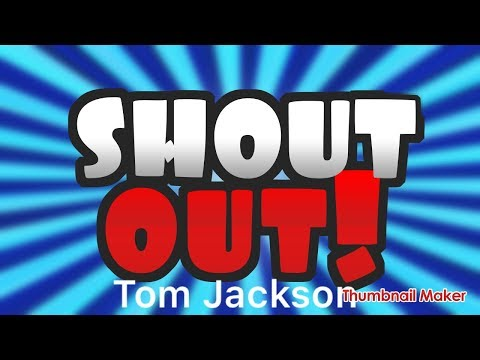 Shoutout Wednesday - Tom Jackson