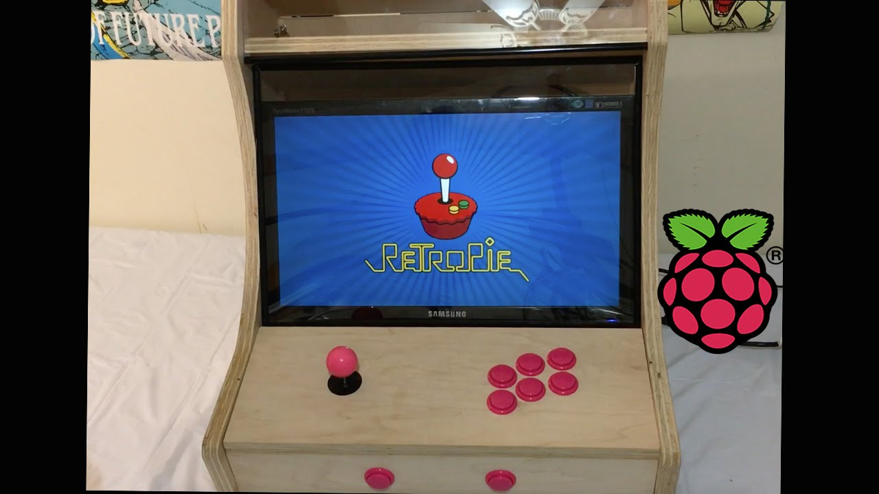 Bartop Arcade Cabinet Build Powered By Raspberry pi 1 2 3 Or zero ...