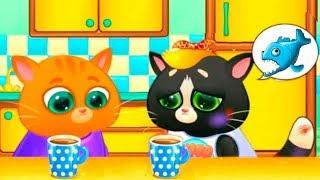 КОТЕНОК БУБУ | неожиданный гость котика | Мультик про милых котят для детей