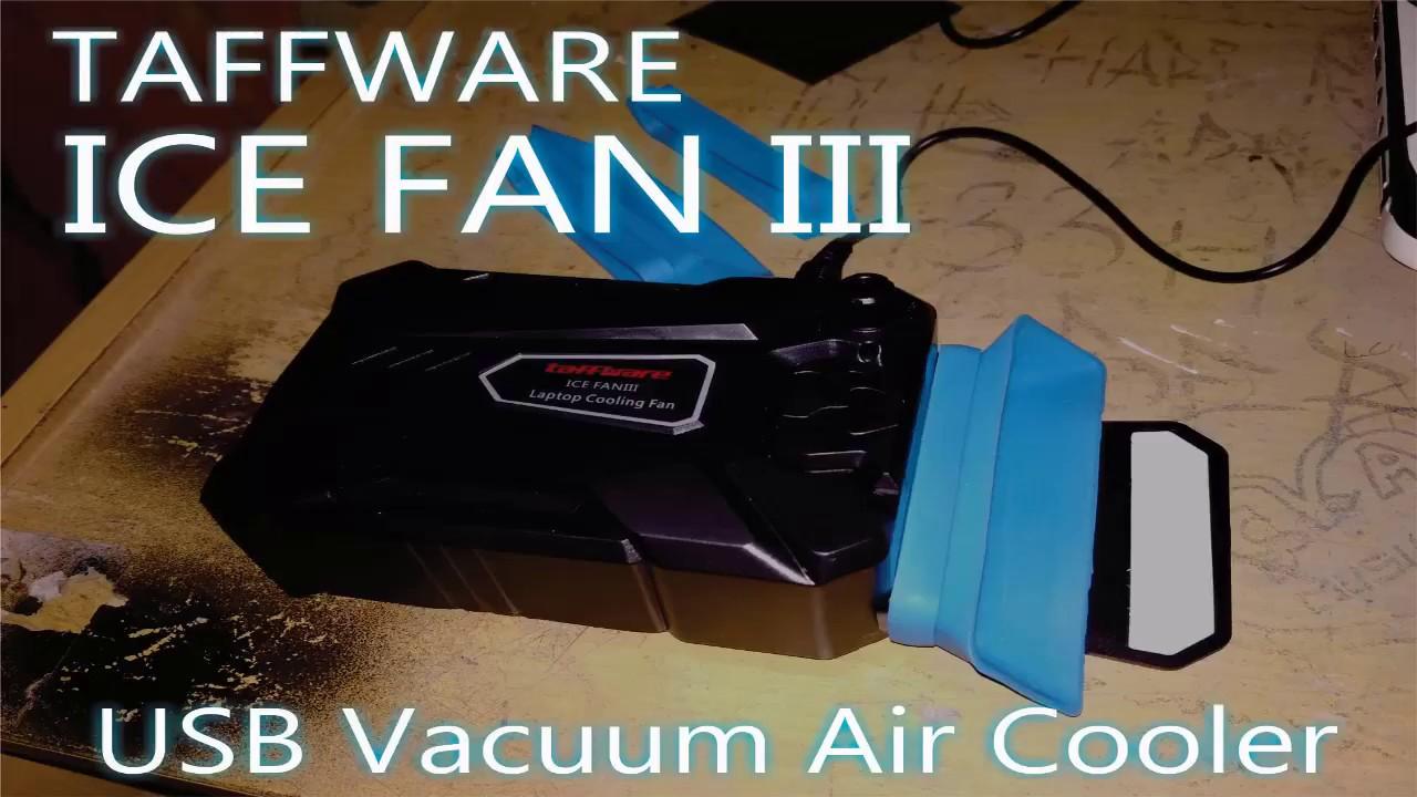 Taffware Cool Cold Universal Laptop Cooler Kipas Pendingin8 Lihat Vacuum V6 Black Unboxing Review Pendingin Tercepat Ice Fan Iii