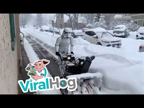Bob Hauer - Stormtrooper Snow Blowing