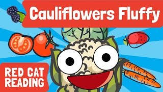 Cauliflowers Fluffy | Paintbox | Vegetable | Harvest | Kids Song | Made by Red Cat Reading