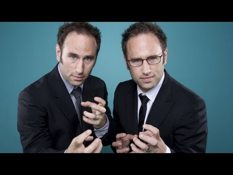 The Sklar Brothers Discuss Urinal Etiquette