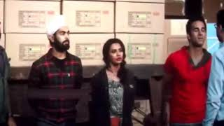 Chucha kissing bholi fukrey return kissing scene