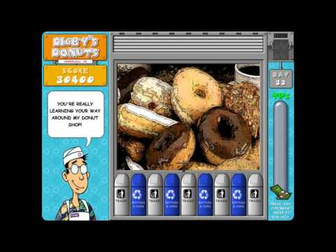 Digby's Donuts -  Game House Level 29-37