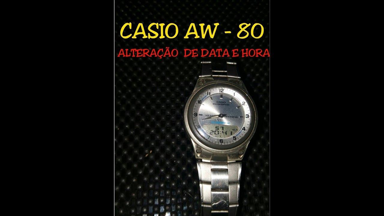 80Acertar Data Aw Casio A E Hora lFJTKc5u13