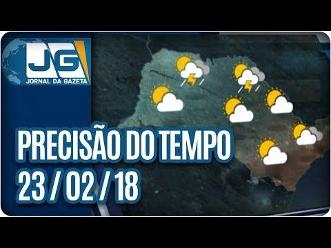 Previsão do Tempo - 23/02/2018