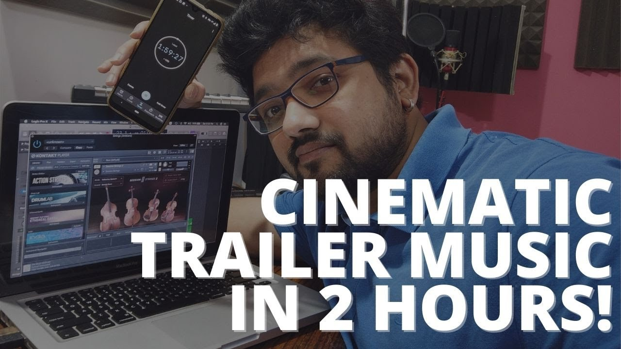 Writing Epic Cinematic Trailer Music In Just 2 Hours
